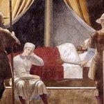 Italian painting of Constantine's dream