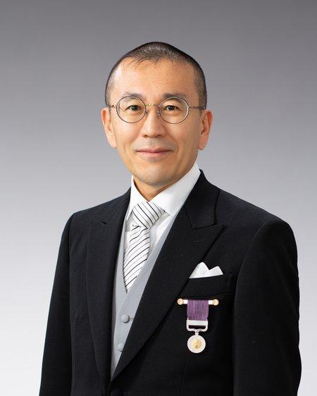 Hirosi Ooguri with Medal of Honor