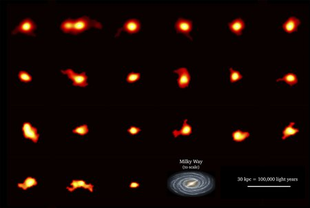 Rotating galaxies as seen by ALMA.