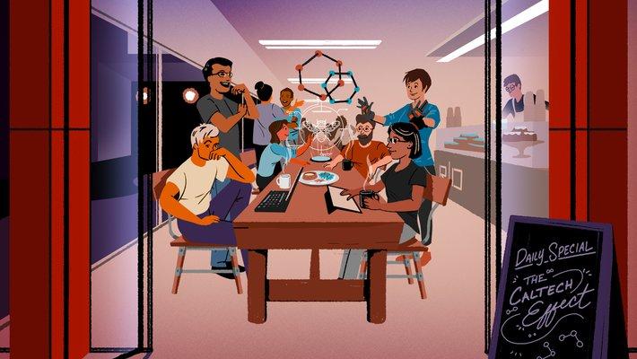 cover illustration from January 2020 Break Through e-magazine