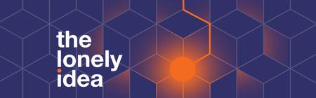 """Cube-pattern """"lonely-Idea"""" logo"""