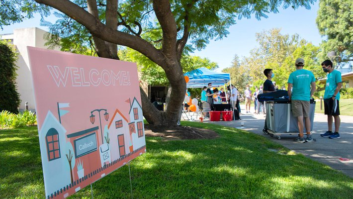 Move-in Day at Caltech