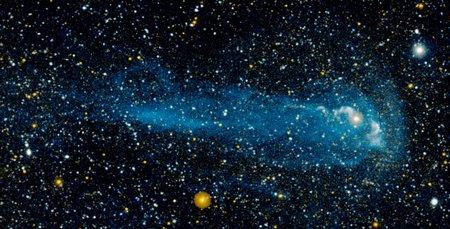 GALEX image of the star Mira