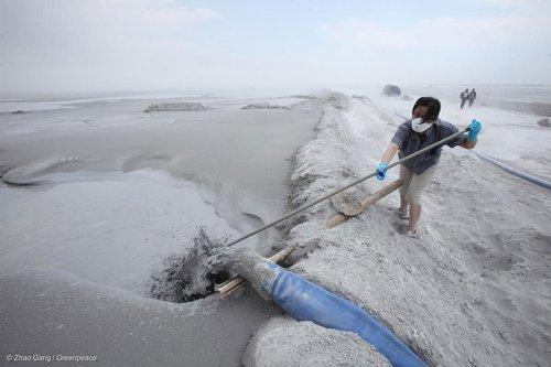 Coal ash disposal