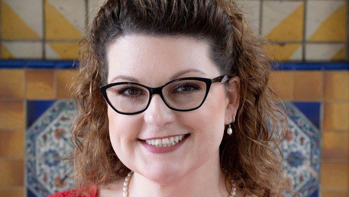 Caltech librarian Kara Whatley