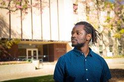 Graduate student Daniel Mukasa