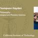Alistair Thompson Hayden