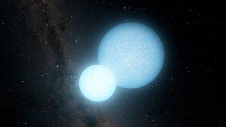 Artwork of white dwarfs
