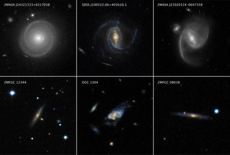 Images of super spirals